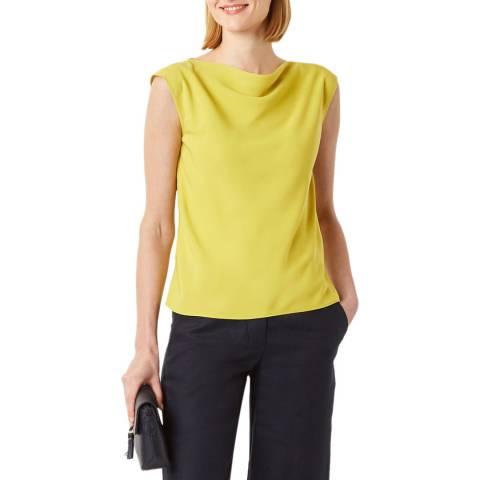 Hobbs London Yellow Alyssa Top