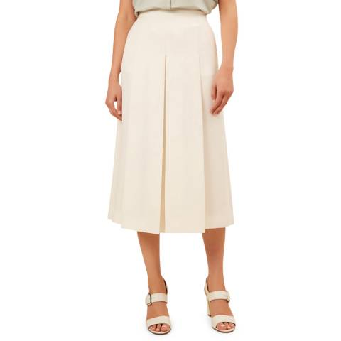 Hobbs London Ivory Drew Culotte Trousers