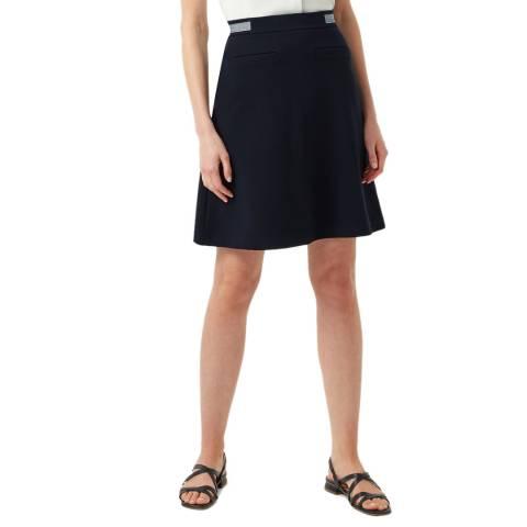 Hobbs London Navy Sorcha Skirt