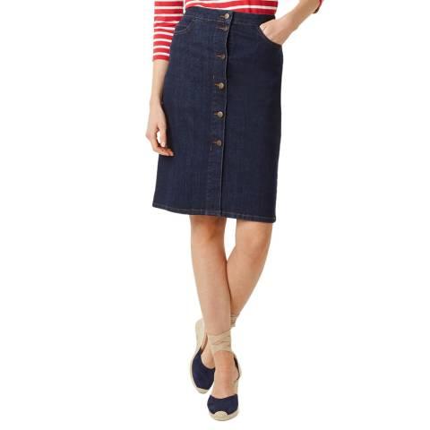 Hobbs London Indigo Denim Emmeline Skirt