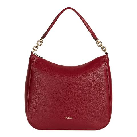 Furla Cherry Cometa Large Hobo Bag