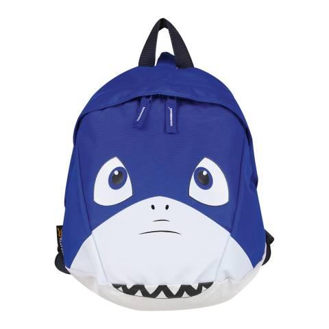 Regatta Blue Shark Roary Animal Backpack