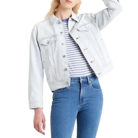 Levi's Pale Blue Ex-Boyfriend Trucker Jacket