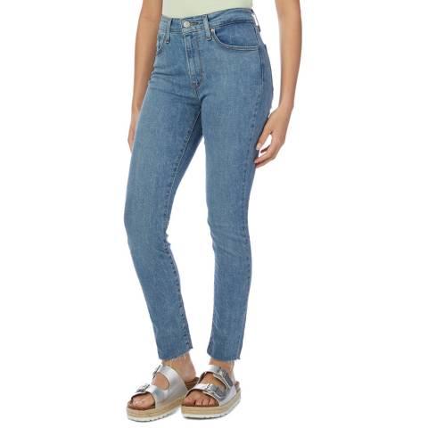 Levi's Denim Blue 721™ High Rise Skinny Stretch Jeans