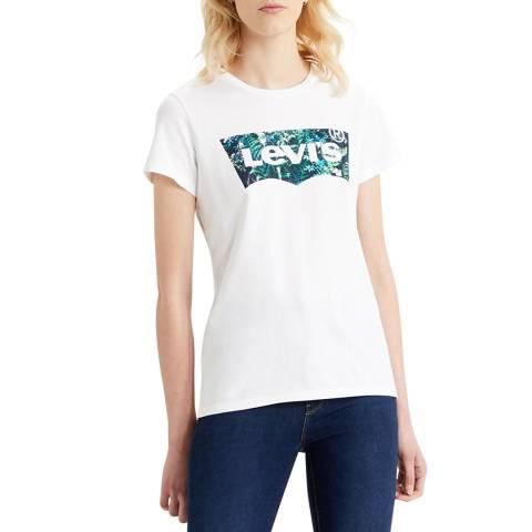 Levi's White Greenery The Perfect T-Shirt