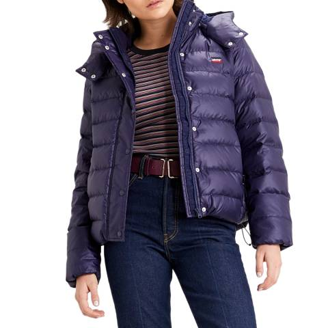 Levi's Navy Core Down Puffer Jacket