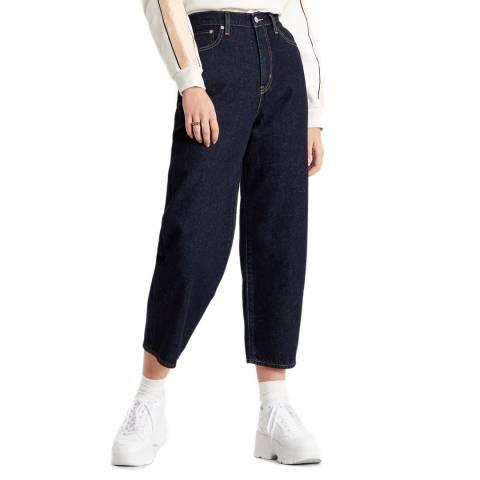 Levi's Indigo Balloon High Rise Jeans