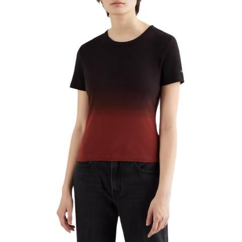 Levi's Black Rickie Dip Dye T-Shirt