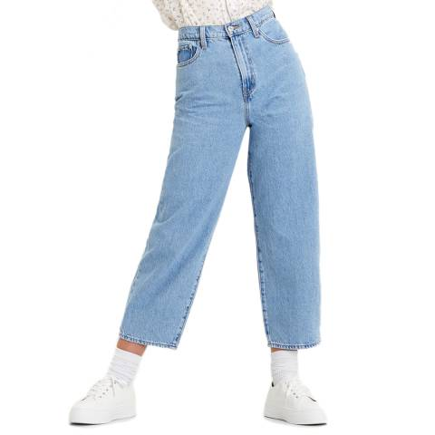 Levi's Blue Balloon High Rise Jeans