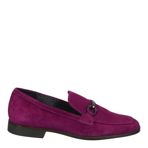 Gant Plum Purple Suede Treesa Moccasin Shoes
