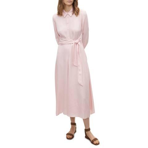 Claudie Pierlot Pale Pink Maxi Dress