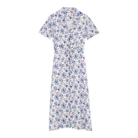 Claudie Pierlot Light Multi Belted Maxi Dress