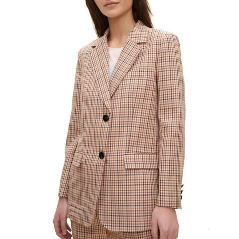 Claudie Pierlot Multi Boyfriend Style Blazer