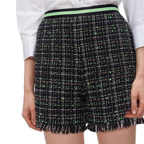 Claudie Pierlot Multi High Waist Cotton Blend Shorts
