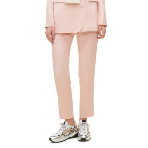 Claudie Pierlot Powder Pink Tailored Trousers
