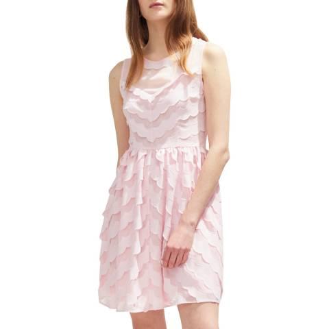 Claudie Pierlot Rose Floaty Sleeveless Mini Dress