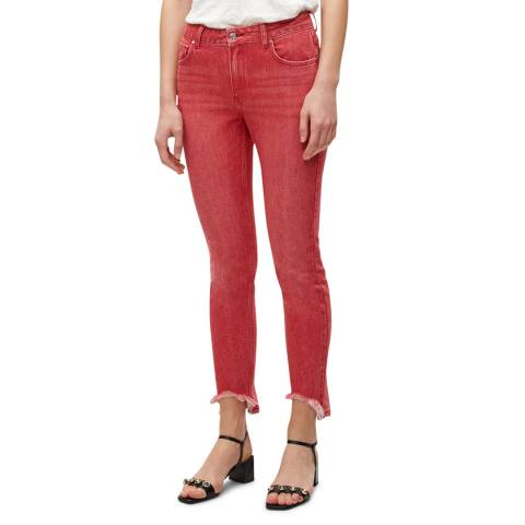 Claudie Pierlot Red Skinny Cotton Jeans