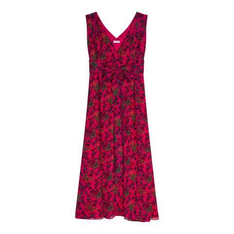 Claudie Pierlot Multi Sleeveless Paisely Print Dress