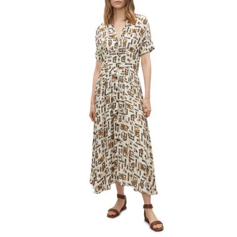 Claudie Pierlot Multi Print Maxi Dress