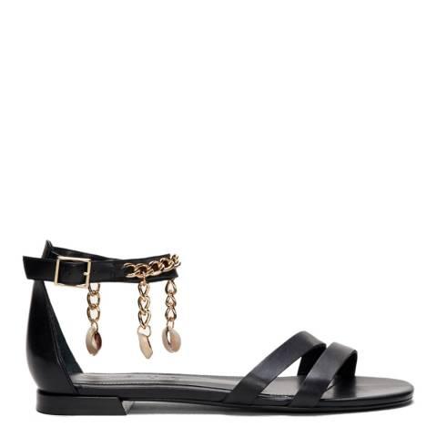 Claudie Pierlot Black Atheae Leather Sandal