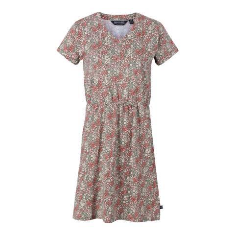 Regatta Ditsy Leaf Elasticated Waist Dress