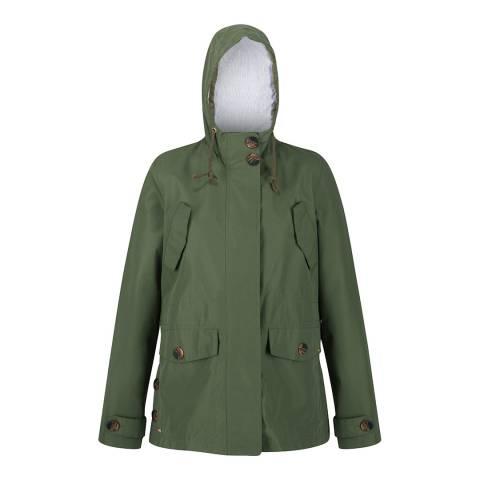 Regatta Green Waterproof Shell Jacket