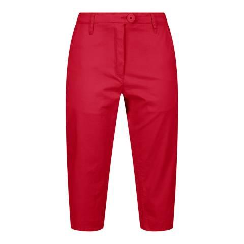 Regatta Red 3/4 Stretch Trousers