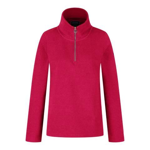 Regatta Pink Half Zip Fleece