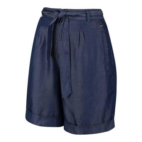 Regatta Chambray Linen Shorts
