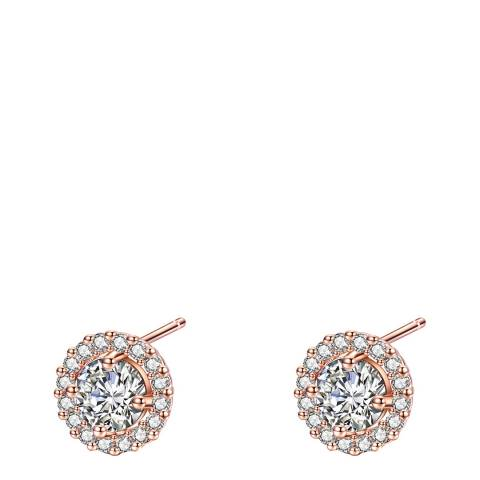 Ma Petite Amie Rose Gold Plated Earrings with Swarovski Crystals