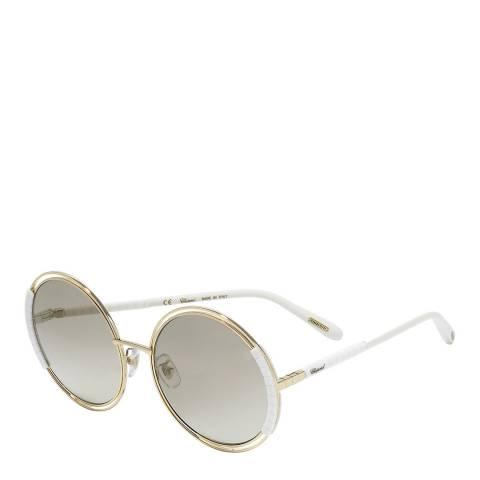 Chopard Rose Gold Circle Sunglasses