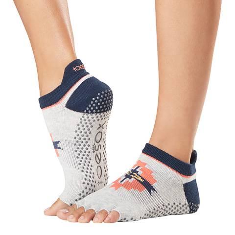ToeSox Yonder Low Rise Half Toe Grip Socks
