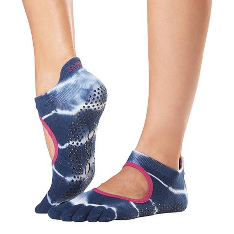 ToeSox Cosmic Bellarina Full Toe Grip Socks