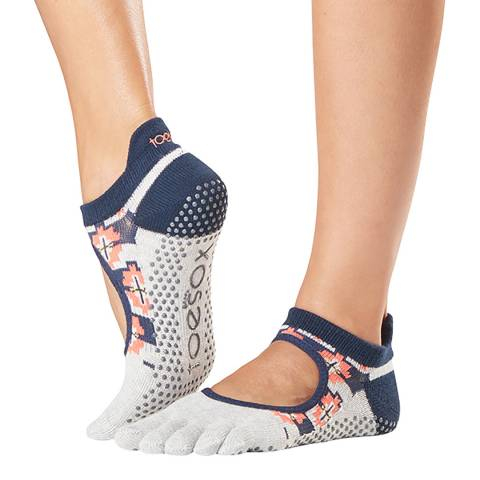 ToeSox Yonder Bellarina Full Toe Grip Socks
