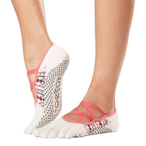 ToeSox Country Elle Full Toe Grip Socks