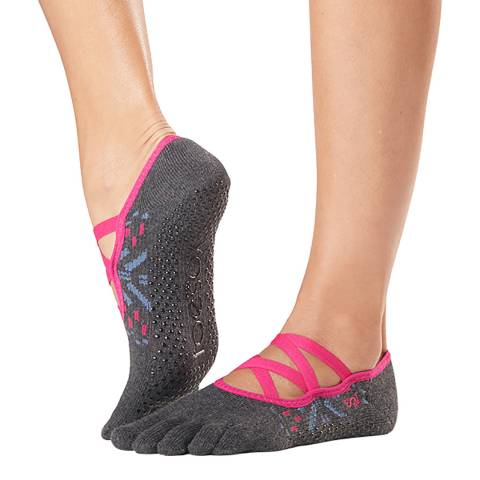 ToeSox Festival Elle Full Toe Grip Socks