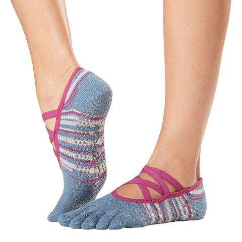ToeSox Gypsy Elle Full Toe Grip Socks