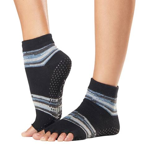 ToeSox Duet Ankle Half Toe Sock