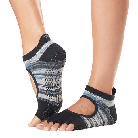 ToeSox Duet Bellarina Half Toe Sock