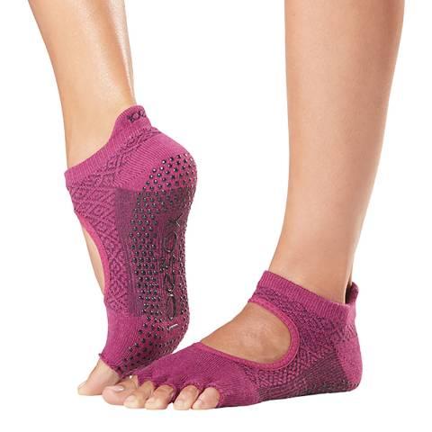 ToeSox Groovy  Bellarina Half Toe Sock