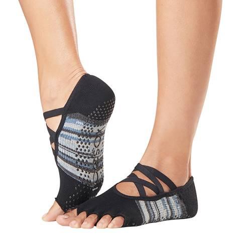 ToeSox Duet Elle Half Toe Grip Socks