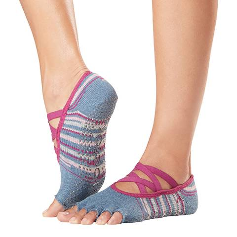 ToeSox Gypsy Elle Half Toe Grip Socks
