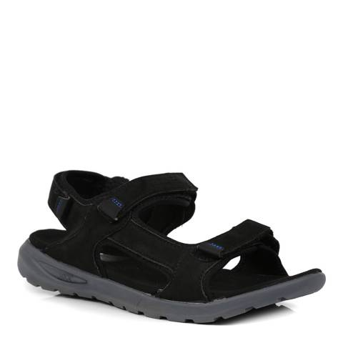 Regatta Black Marine Sandal