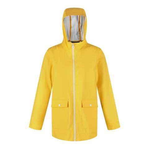 Regatta Women's Yellow Waterproof Jacket