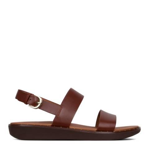 FitFlop Cognac Barra Sandals