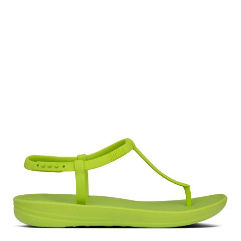 FitFlop Lime Green Iqushion Splash Sandals