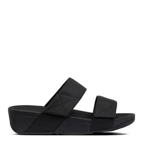 FitFlop Black Mina Shimmer Slides