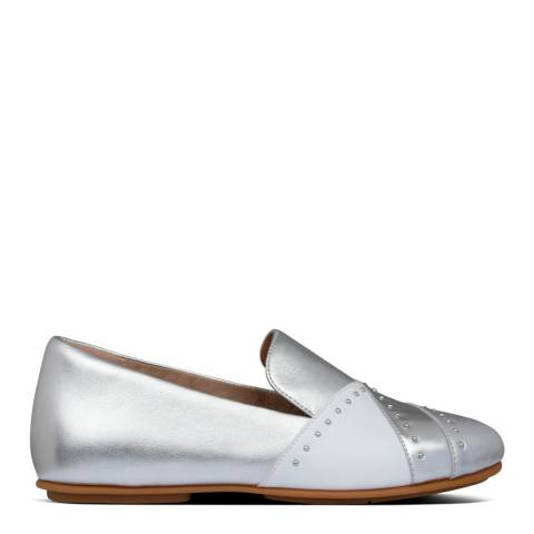 FitFlop Silver Angelina Microstud Loafers