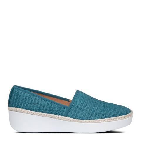 FitFlop Sea Blue Casa Espadrille Loafers
