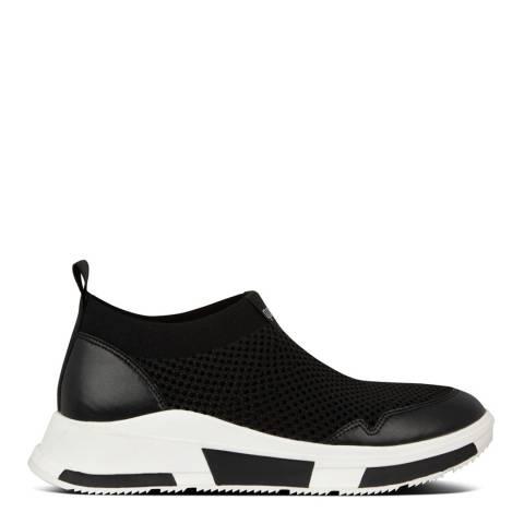 FitFlop Black Erin Mesh Sneakers